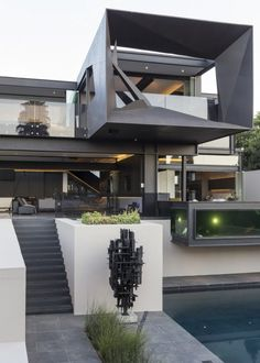 Kloof Road House by Nico van der Meulen Architects | HomeAdore