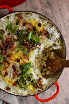 Malabar Mutton Biriyani – World Food Rice Recipes, Indian Food Recipes, Cooking Recipes, Chicken Recipes, Recipies, Naan, Kerala Food, Biryani Recipe, India Food