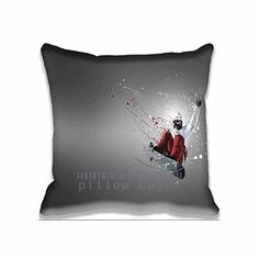 Art Snowboards Sports Unique Throw Pillow Covers Print  Fantasy Pillows Bedroom Cotton Case sport Decorative Pillowcase Set for Home and Hotel ** Check this awesome product by going to the link at the image.