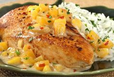 Mango Coconut Chicken | Recipe of the day | Kosher Recipes - Joy of Kosher with Jamie Geller - Jewish Recipes and Menus