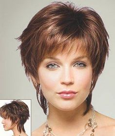 short hair styles for women Cute Layered Cut One of the first things that you can notice at this type of haircut is the fact that you will be able to enjoy a lot of volume. Morevoer, you will be able to style the layers in such a way that you neck will seem longer. - See more at: http://www.short-haircut.com/2013-cute-short-haircuts.html#sthash.0OgcUAGf.dpuf