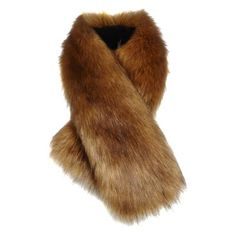 £35.00 - Brown Faux Fur Tippet Scarf. The perfect finish to your winter outfit, this handmade scarf is sure to keep you stylish and warm.