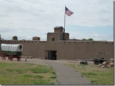 Bents Old Fort near La Junta