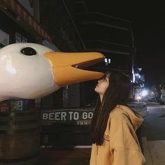 Meet Lee Hana,the female maknae from the one and only BTS. Korean Aesthetic, Aesthetic Girl, Aesthetic People, Cute Korean, Korean Girl, Girl Couple, Uzzlang Girl, Cat Dog, Korean Couple