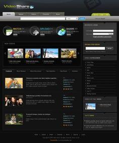 Movie Hunter Home Theatre Website | Web Templates | Pinterest ...