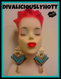 Teal Queens by divaliciouslyhott on Etsy, $20.00