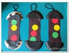 transportation crafts preschool activities