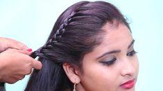 Beautiful French Braid Hair Style for Medium to Long Hair / Hairstyles /... French Braid Hairstyles, Bun Hairstyles For Long Hair, Trending Hairstyles, Latest Hairstyles, New Hair, Braids, Long Hair Styles, Beautiful, Medium