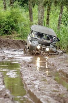 if you \'ve not done it you wont get it, but this is what land rovers serie 2 were made for
