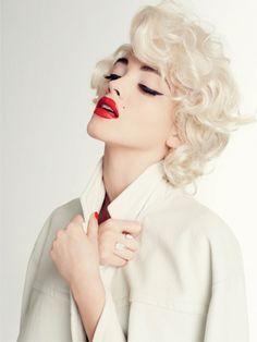 Marilyn Monroe inspired - CR Fashion Book // #fashion