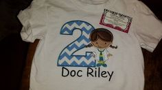 Doc McStuffin Birthday Shirt FREE SHIPPING by SouthernBlingBowtiqu, $23.00
