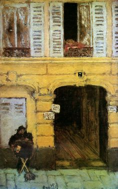 Pierre Bonnard - The organ grinder