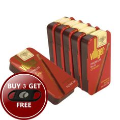 Villiger Premium No. 6 Cherry Cigarillos has high-quality tobacco blend which is refined with a fruity cherry aroma that gives this cigarillo a fine taste.