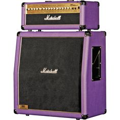 If I played guitar, I'd be rockin' the #purple Marshall Half Stack.