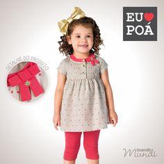 O estilo poá que sua menina adora na Primavera 2014 Brandili <3