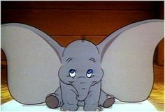 Dumbo - The cartoon elephant character we all use to grow up with. Disney Love, Disney Magic, Disney Pixar, Walt Disney, Dumbo Disney, Disney Stuff, Cute Cartoon Characters, Favorite Cartoon Character, Movie Characters