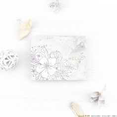 Seven Hills Crafts Blog: A Floral Hello