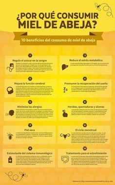 12 Beneficios de la miel