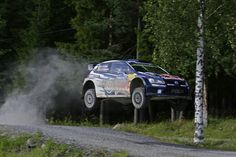 Jari-Matti Latvala, finnish pilot, for the third time winner at the world rally WRC 2015, Finland.