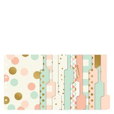 Coral Planner Love Tab Dividers - FranklinCovey