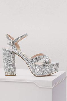 57e3aa059b3f Buy Miu Miu Platform sandals online on 24 Sèvres.