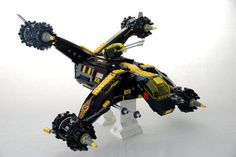 40 Impressive Robots Built with Lego Bricks