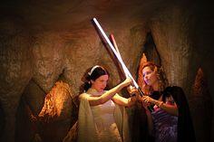 Nadia & Dale's wookiee boogie Star Wars wedding