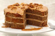 Mira qué tarta de nueces y miel ¡Aprende a hacerla!    #tartaDeNuecesYMiel #RecetaTartaDeNueces #PostresFaciles #TartasFaciles