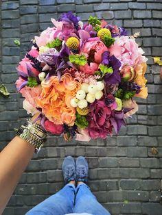 Amazing!!!! Flowers Nature, Dried Flowers, Fresh Flowers, Beautiful Flowers, Floral Bouquets, Wedding Bouquets, Wedding Flowers, Floral Wreath, Beautiful Flower Arrangements