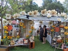 flea market display ideas | Becky's awesome booth at Vintage Market Place..look for us at ...