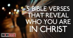 """19,9573832What does the Bible reveal who we are in Christ? What does it mean by saying we are """"in Christ?""""  Acts 24:24 """"After some days Felix came with his wife Drusilla, who was Jewish, and he sent for Paul and heard him speak about faith in Christ Jesus."""" The important thing about faith here ..."""