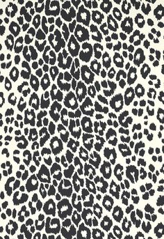 Fabric Patterns Schumacher Iconic Leopard Wallcovering in Graphite - Schumacher Iconic Leopard Wallpaper Wallcovering Cheetah Print Wallpaper, Leopard Print Background, Artsy Background, Fall Wallpaper, Wallpaper Ideas, Cute Backgrounds For Iphone, Photo Backgrounds, Brick Room, Custom Roman Shades
