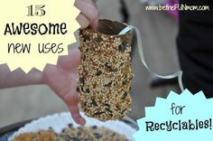Fun, recycled crafts for kids!