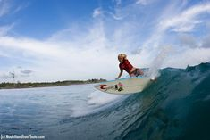 Bethany snaps it off the top in Indonesia. photo (c)NoahHamiltonPhoto.com