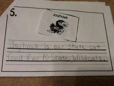 Really smart kid!