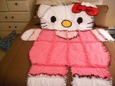 Hello Kitty Quilt   -  Hello Kitty Look-a-like.