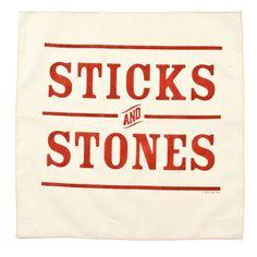 Izola - Sticks and Stones Handkerchief