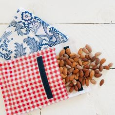 DIY Reusable Snack Bags are easy to make and perfect to store your favorite treat on the go.