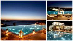 billcooSuites and lounge Mukonos beautiful pool hotels around greece Οι πιο εντυπωσιακές πισίνες ξενοδοχείων στην Ελλάδα… #checkin #trivago Pools, Alcoholic Drinks, Wine, Glass, Outdoor Decor, Beautiful, Home Decor, Decoration Home, Swimming Pools