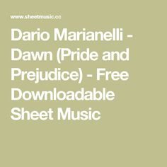 Leonard cohen hallelujah free pianoguitar sheet music sheet music dario marianelli dawn pride and prejudice free downloadable sheet music fandeluxe Images