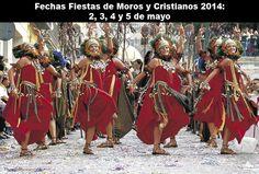 Fiestas de Moros y Cristianos de #Alcoy. En Alicante turismo y tradición! #Alcoi #MorosyCristianos