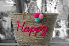 L'atelier Des Petites Bauloises: Panier Happy or Happy