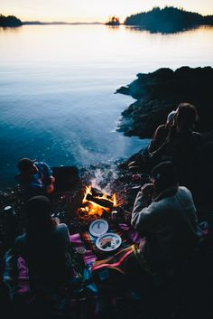 "benchandcompass: ""campfire sessions. """