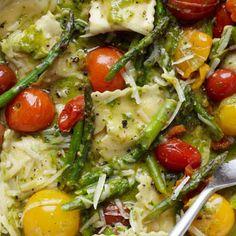 Pesto Ravioli Recipe | Key Ingredient