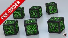 Shadowrun dice are now available for pre-order! All orders will be shipped from 30th of July.