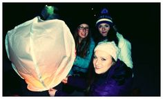 """Celebrating Chinese New Year with Canadian friends, letting off sky lanterns with hundreds of others on the beach!""  Sophie Black (BA Geography)"