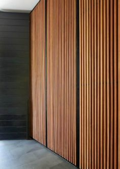 These would make amazing cupboard doors. Image from Gower St Residence - Colombo, Sri Lanka Kerry Hill Architects. Bedroom Cupboard Doors, Hallway Cupboards, Bedroom Closet Doors, Bedroom Cupboards, Wardrobe Doors, Linen Cupboard, Bedroom Storage, Cabinet Doors, Timber Screens