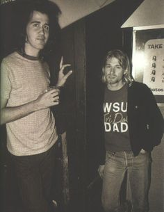 """If you could see Kurt Cobain one more time, what would you say to him? """"I love you."""" -Krist Novoselic"""