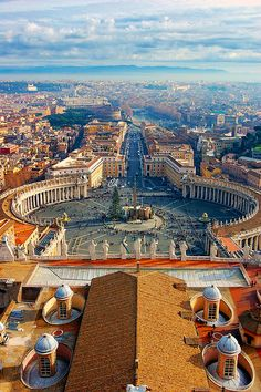 St. Peter, Vatican City. This is my number 1 place I want to go in my lifetime.