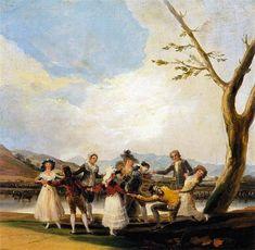 Blind Man's Buff - Goya Francisco